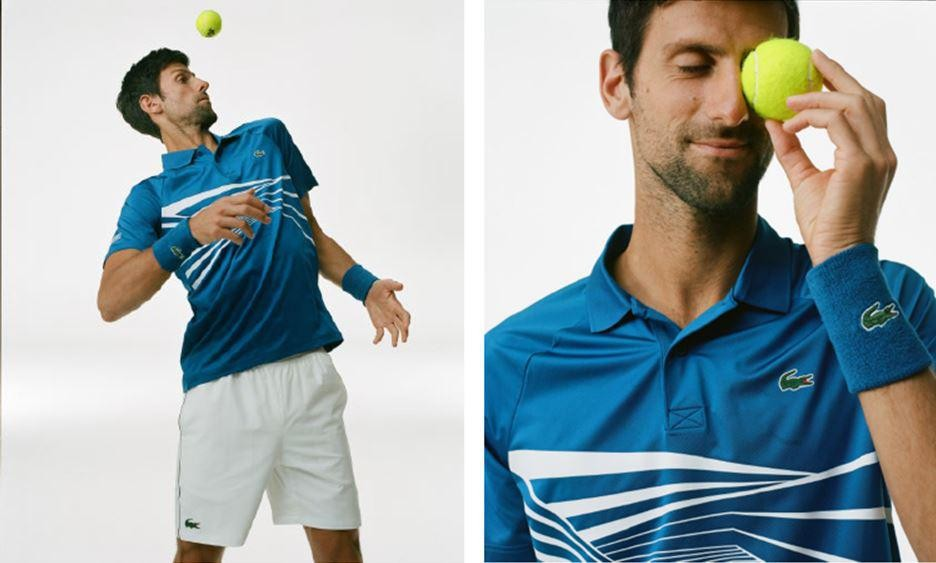 LACOSTE UNVEILS THE NOVAK DJOKOVIC COLLECTION AND ITS TEAM'S